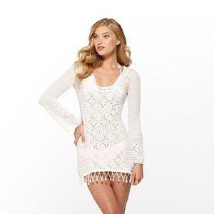 Lilly Pulitzer Athena Crochet Tunic Sweater